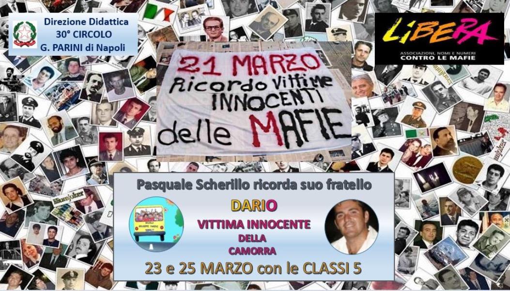Ricordo Vittime  innocenti delle mafie