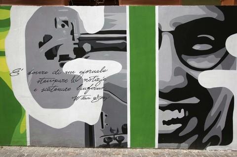 Un murales per Siani
